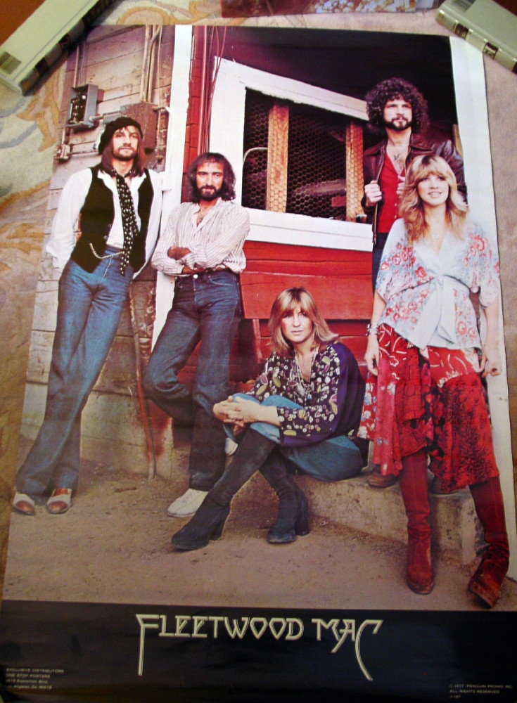 Fleetwood Mac And Related Solo Artist Posters For Sale